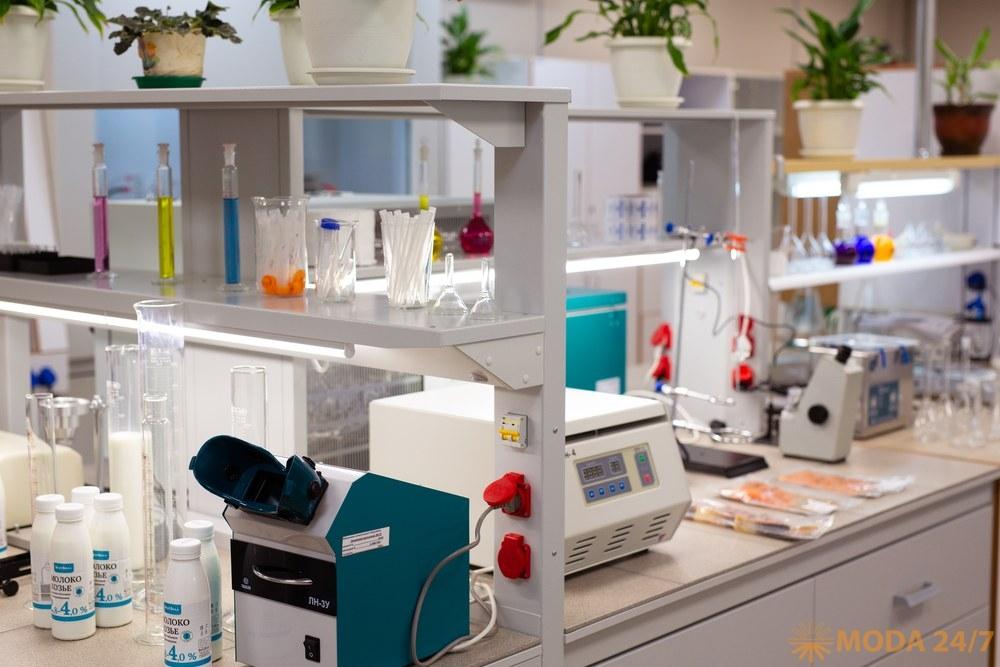 Новая лаборатория в РЦ «Вешки»