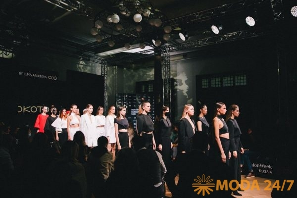 Международный Конкурс Молодых Модельеров. Показ в ИЗВЕСТИЯ Hall