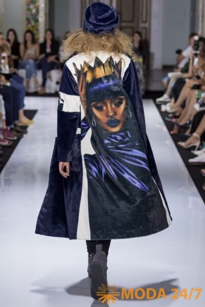 Purpurnoe Nebo. Модный вечер в стиле À la russe Первой женской академии