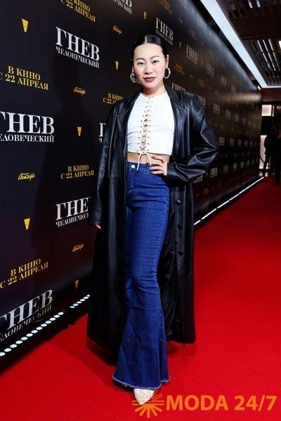 Российская актриса Ян Гэ
