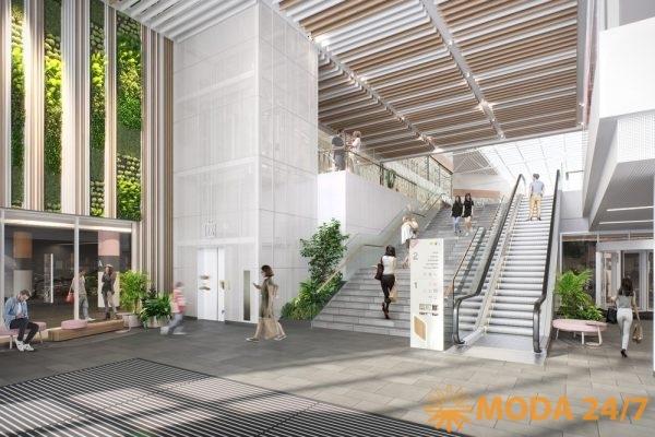 МЕГА Белая Дача – обновление. Оформление центрального входа