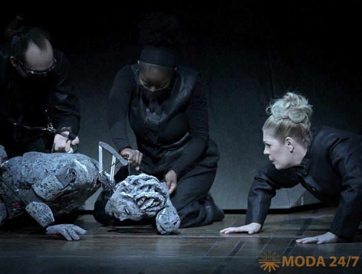 Опера в кино «Аида». Куклы Significant Object, Сондра Радвановски (Аида)