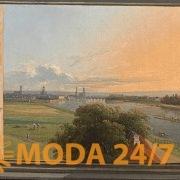 К. Г. Траугот Фабер «Вид на Дрезден», 1824. Русско-немецкие мечты о свободе в Новой Третьяковке