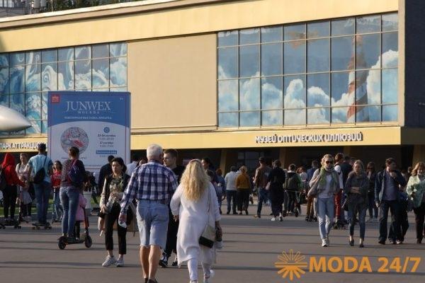 Ювелирная выставка в павильоне №55 ВДНХ
