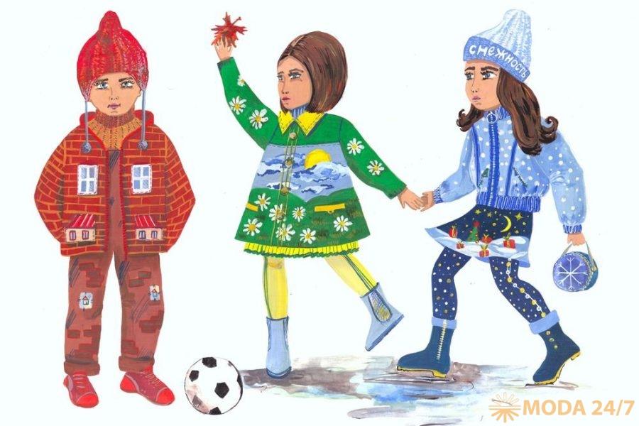 Рисунок вдохновивший коллекцию, Алина Березина