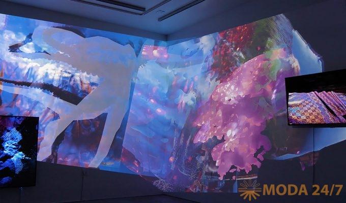 Видеоинсталляция «Если бы ИИ был осьминогом» в Laboratoria Art&Science, 0(rphan)d(rift)