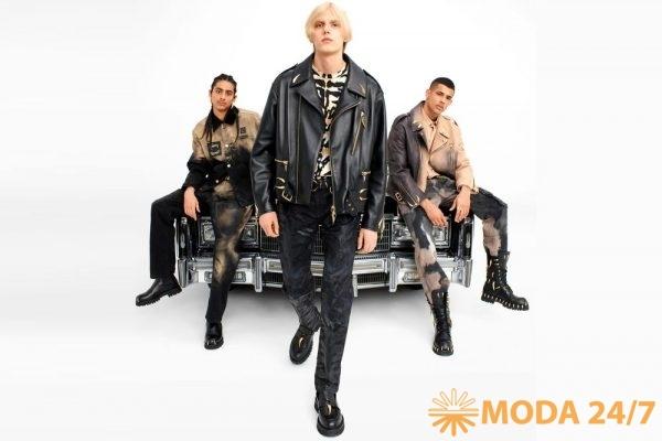 Мужские модели. Roberto Cavalli fw-2021/22