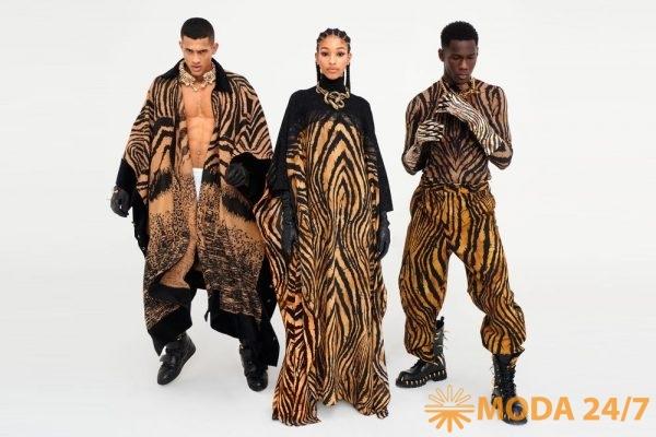 Мужское пальто и платье
