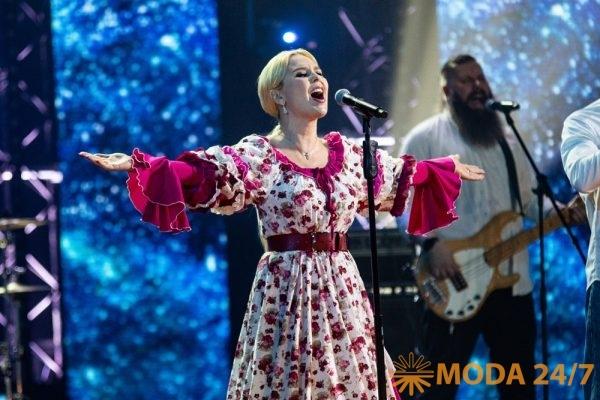 Певица Пелагея на гала-концерте фестиваля. Фестиваль «Русское поле»