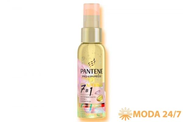 Невесомое масло 7-в-1 с биотином, розовой водой и касторовым маслом