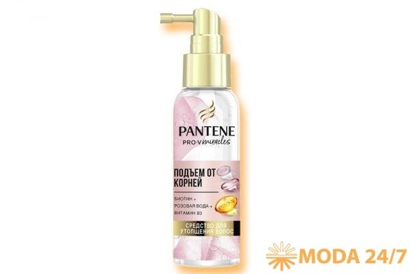 Спрей для утолщения волос «Подъем от корней». Pantene Pro-V Rose Miracles
