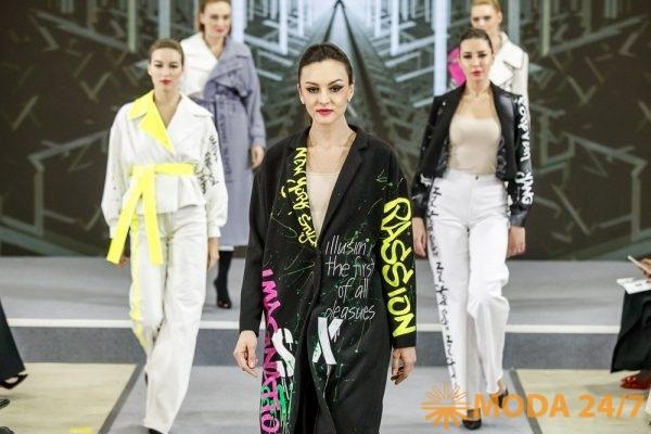 Коллекция верхней одежды Ксении Власовой и Евгении Синьковой