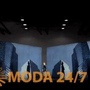 Московский международный кинофестиваль дизайна. Кадр из рекламного ролика: израильский модельер Эли Тахари (Elie Tahari)