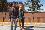 FiNN FLARE осень 2021. Мужские бомбер, водолазка и джинсы. Женские куртка, жилет и шорты