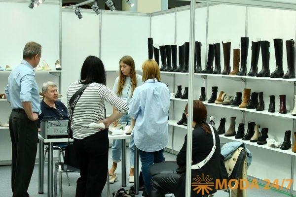 Новинки обуви на выставке Мосшуз 85