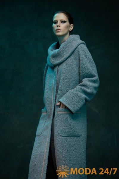 Пальто с накладными карманами TEGIN FW-2021/22
