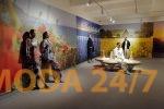 Показ Victoria Andreyanova SS-2022 в пространстве выставки «Коллекция впечатлений. Дизайнеры и фотографы о путешествиях»