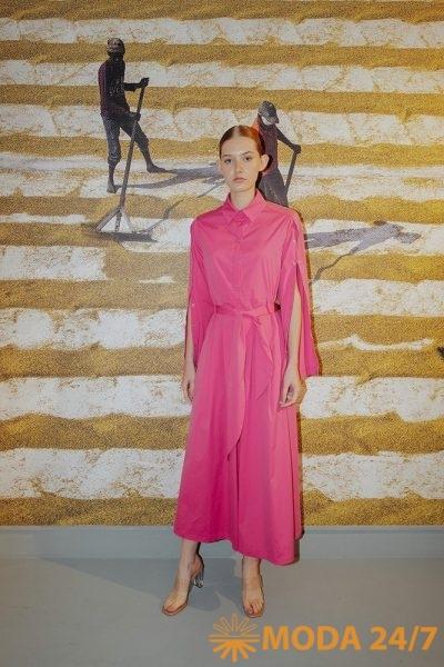 Платье из новой коллекции Виктории Андреяновой сезона весна-лето 2022
