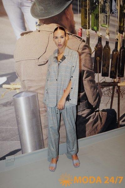 Жакет и брюки из весенне-летней коллекции
